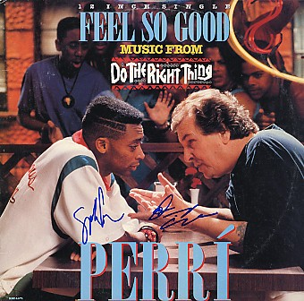 Do The Right Thing - Soundtrack cast signed